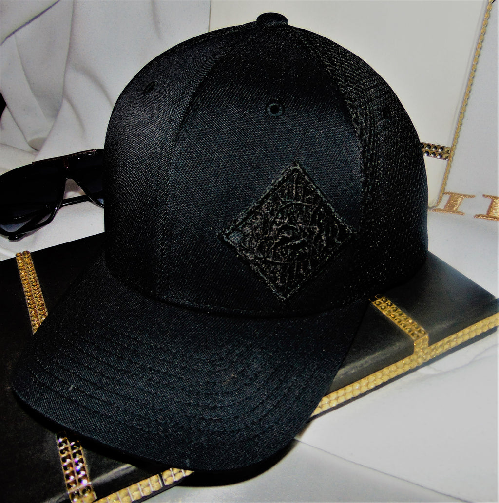 Hats - Sagii black on black - sagii-store