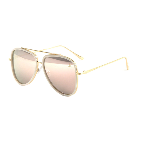 Athleisure Sagii Colored Mirror Shades - Pearl | Sunglasses | Sagii Store | 65.00 USD