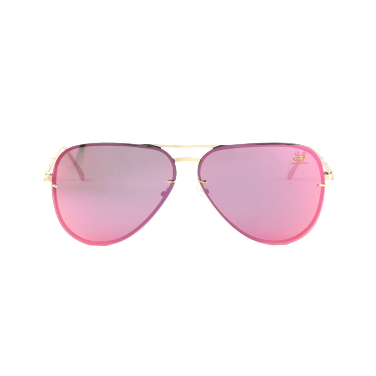 Athleisure Sagii Pink Delight Aviators | Sunglasses | Sagii Store | 58.00 USD