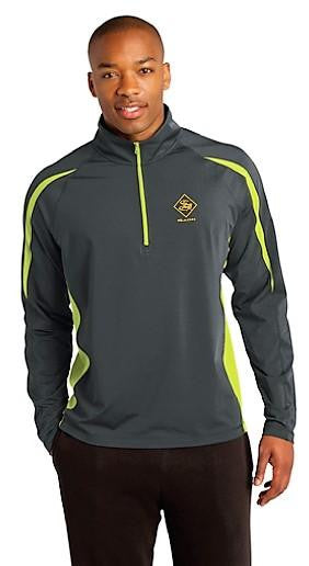 Men's Jackets - Men's Stretch Colorblock 1/2-Zip Pullover - sagii-store