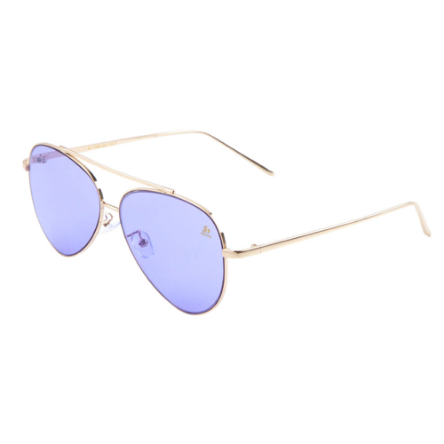 Sunglasses - Sagii Colored Aviators - Purple - sagii-store