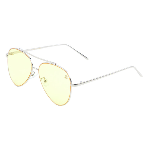 Sunglasses - Sagii Colored Aviators - Pearl - sagii-store