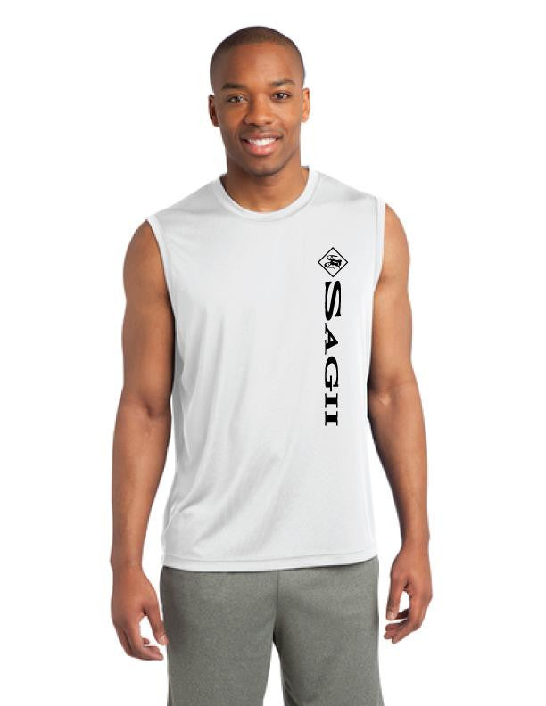 Athleisure Mens Sleeveless Competition Tee | Mens T-Shirts | Sagii Store | 58.00 USD