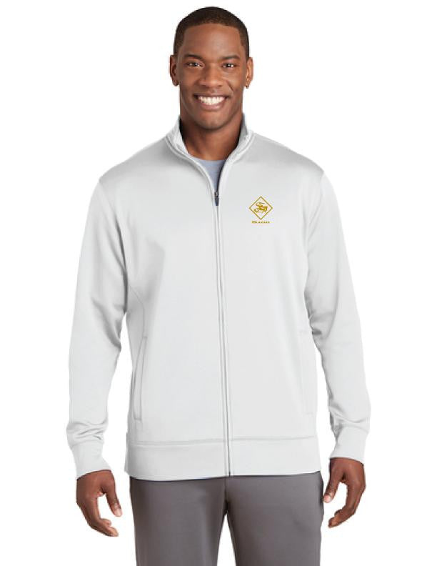 Athleisure Mens Full-Zip Fleece Jacket | Mens Jackets | Sagii Store | 84.00 USD