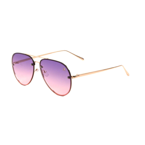 Sunglasses - Sagii Sunset Aviators - Purple/Pink - sagii-store