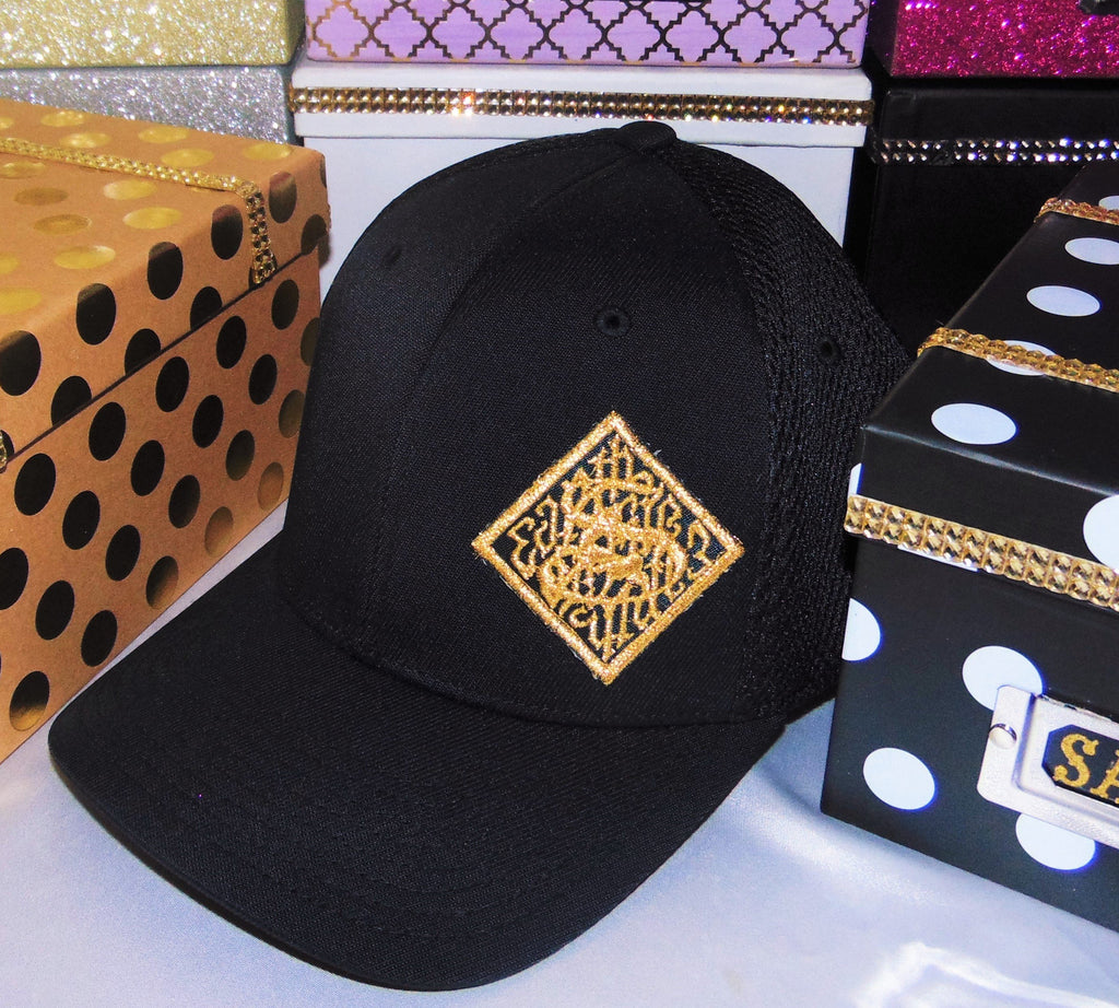 Hats - Sagii black & gold - sagii-store