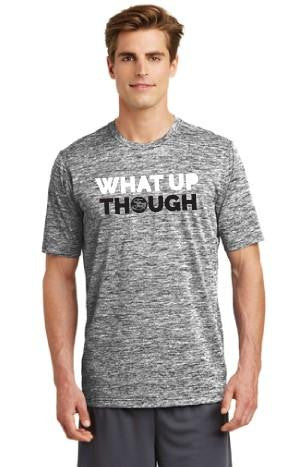 Athleisure SAGII What Up Though Slogan T-shirt | Mens T-Shirts | Sagii Store | 58.00 USD