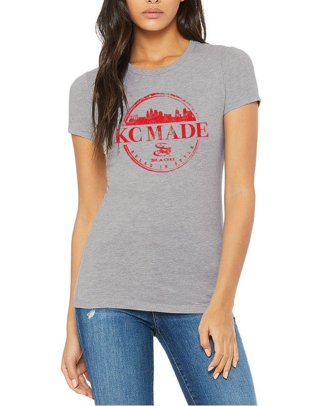 Sky Line T- Shirt | Womens | KC Made
