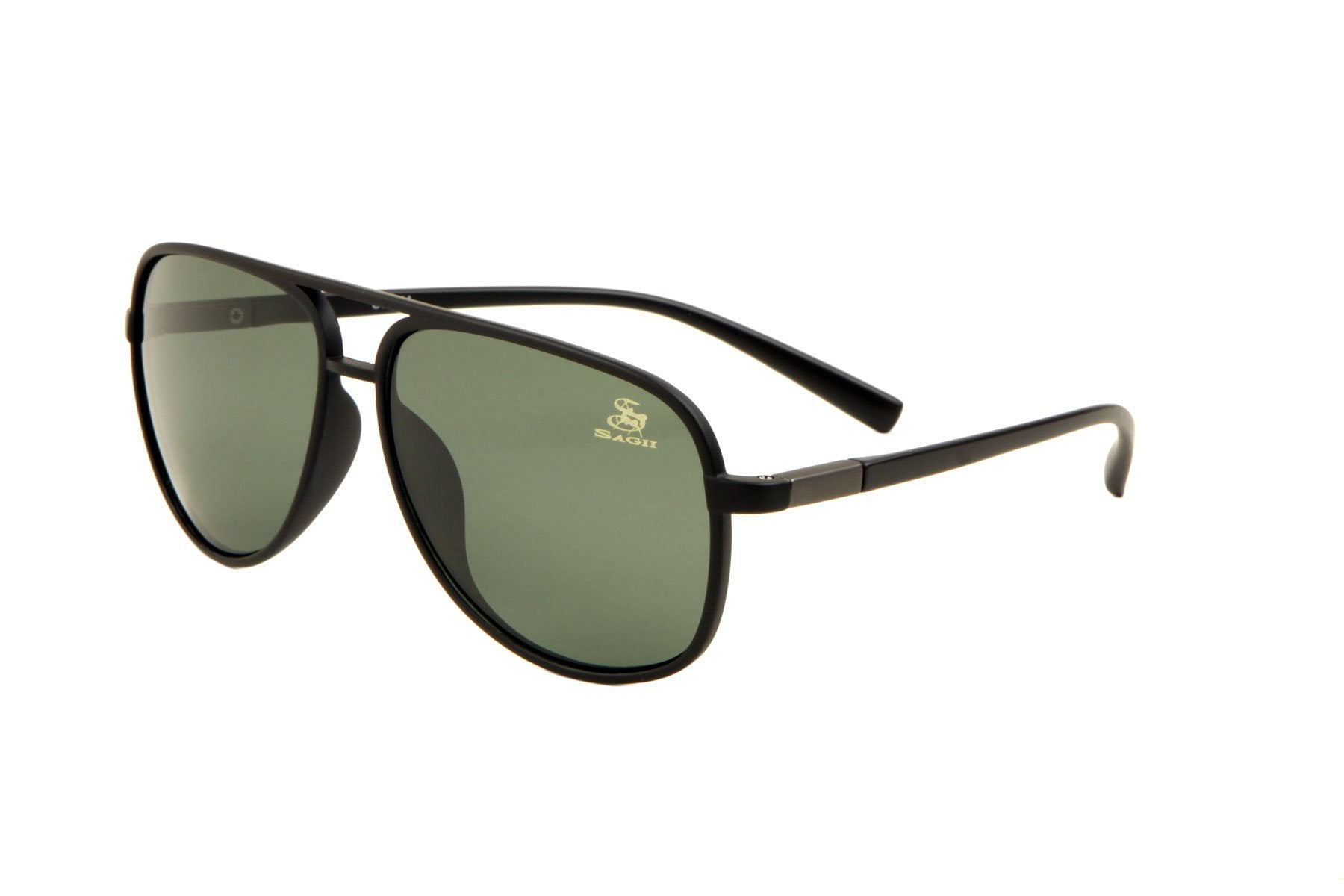 Sunglasses - SAGII POLARIZED AVIATORS Green - sagii-store