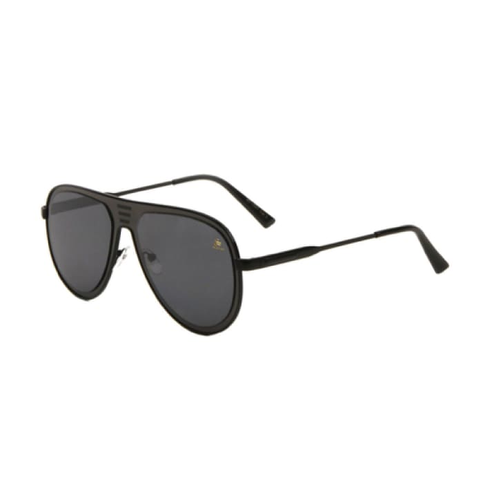 Sunglasses - Sagii Sleek Fashion Aviator - Black - sagii-store