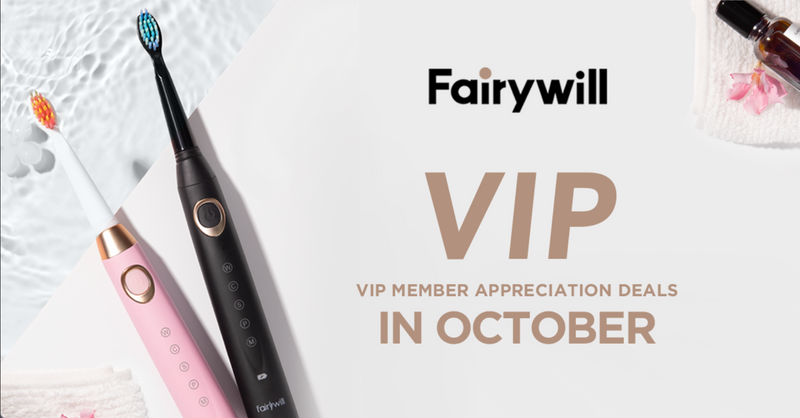 Fairywill VIP Deals in October