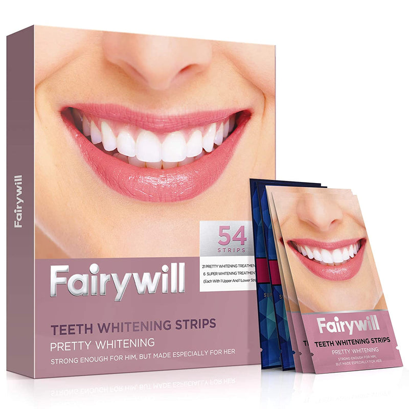 Fairywill Teeth Whitening Strips 54 Pcs