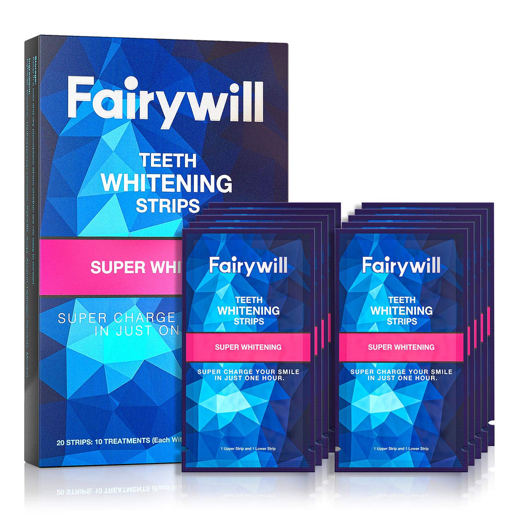 Express Whitening Strips for Teeth, 20 Pcs
