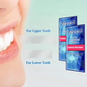Fairywill Vigorous Teeth Whitening Strips, Pack of 20 Pcs