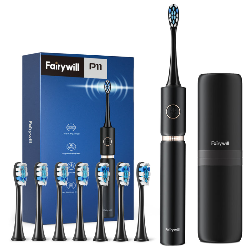 Electric Toothbrush with 8 Heads
