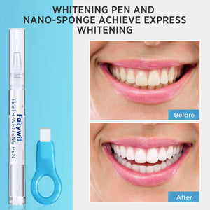 Fairywill FW-339 Teeth Whitening Pen 3 Pack 35 Percent Carbamide Peroxide Gel Whiten Teeth