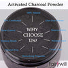 Fairywill Charcoal Teeth Whitening Activated Charcoal Powder