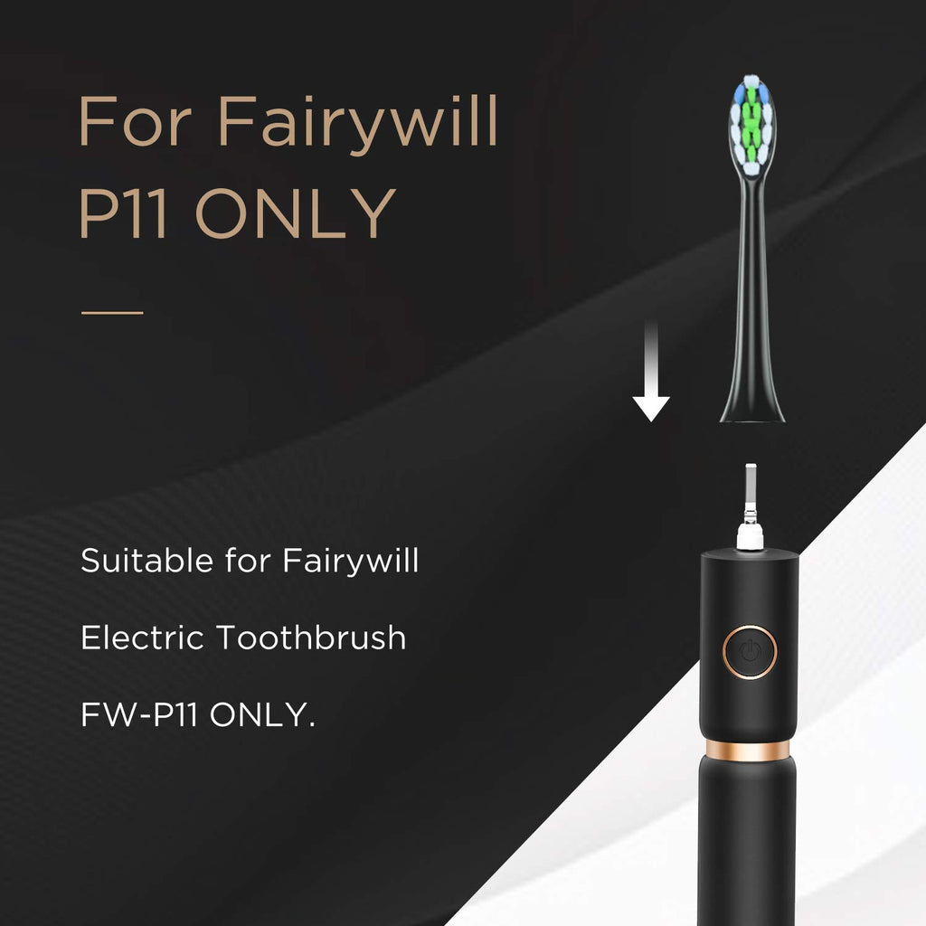 Fairywill p11 replacement head