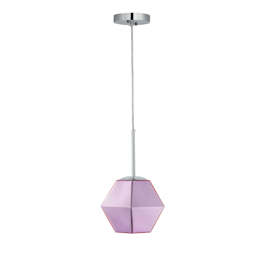 CARRO HOME Pegasus Jewel Tone Glass Pendant Light