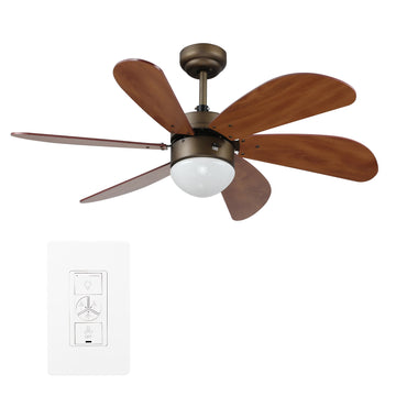 Minimus  38'' Smart Ceiling Fan With LED Light Kit
