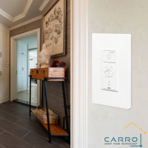 Carro Home Smart Wall Switch Controller For Ceiling Fans (3 Gang)