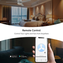 Load image into Gallery viewer, Carro Home Smart Wall Switch Controller For Ceiling Fans (3 Gang)