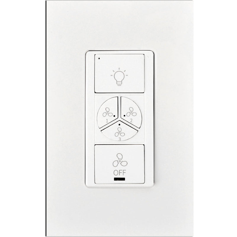 Carro Home Smart Wall Switch Controller For Ceiling Fans (1 Gang)