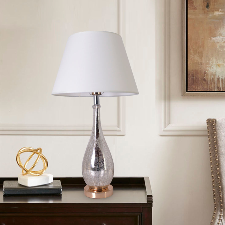 Tulip Little Ombre Droplet Glass Table Lamp 28