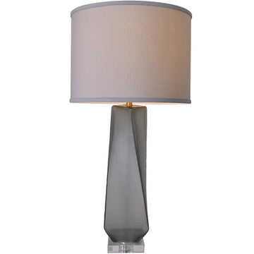 Carro Home Calla Big Twist Frosted Glass Table Lamp 31
