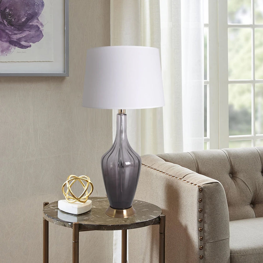 Carnation Translucent Glass Table Lamp 31