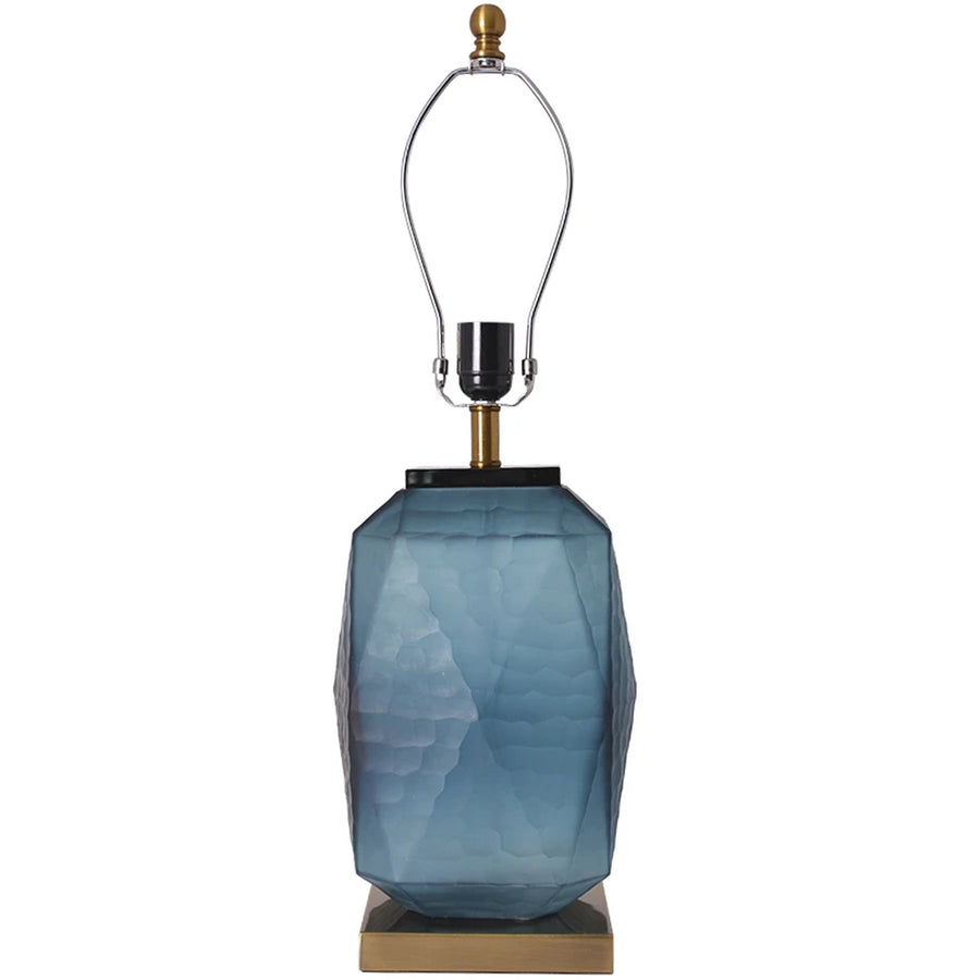 Carro Home Lisianthus Little Sculpted Glass Table Lamp 26