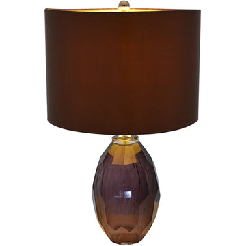 Carro Home Muguet Little Multi-Faceted Glass Table Lamp - 21
