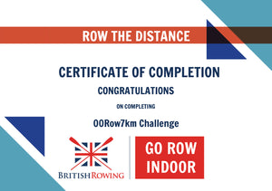 00Row7 Bond - Licence To Row 7km Rowing Challenge