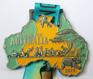 Rowing For Australia - Bush Fire Australian Wildlife Rescue Organisation