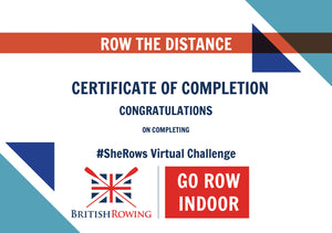#SheRows Virtual Rowing Challenge