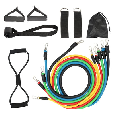 12pcs Pull Rope Fitness Resistance Bands Set - Neatlyfly