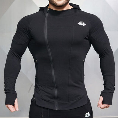 Men Running Jacket Jogging Sports