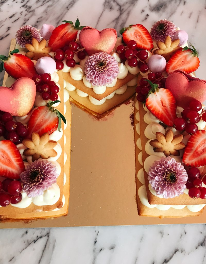 Cream Tart (2 layers)