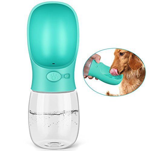 Pedy 12oz Dog Water Bottle with Bowl Dispenser-FurrysWorld