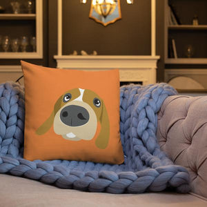 Mutt and Paw Premium Throw Pillow - 4 Colors