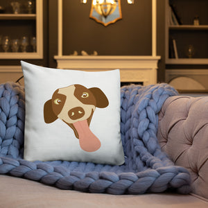 Pup and Paw Premium Throw Pillow - 4 Colors