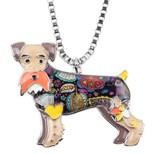 Load image into Gallery viewer, BONSNY Schnauzer Pendant Necklace-FurrysWorld