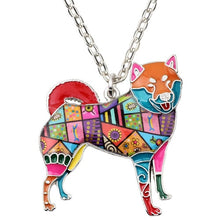 Load image into Gallery viewer, BONSNY Shiba Inu Pendant Necklace-FurrysWorld