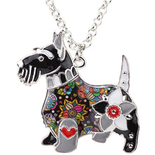 Load image into Gallery viewer, BONSNY Scottish Terrier Pendant Necklace-FurrysWorld