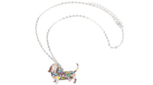 Load image into Gallery viewer, BONSNY Basset Hound Pendant Necklace-FurrysWorld