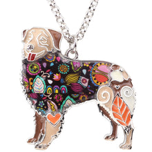Load image into Gallery viewer, BONSNY Australian Shepherd Pendant Necklace-FurrysWorld