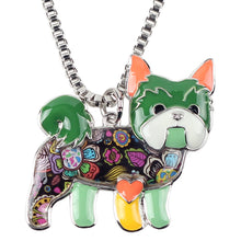 Load image into Gallery viewer, BONSNY Yorkie Pendant Necklace-FurrysWorld