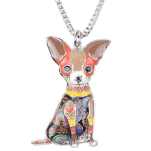 Load image into Gallery viewer, BONSNY Chihuahua Pendant Necklace-FurrysWorld