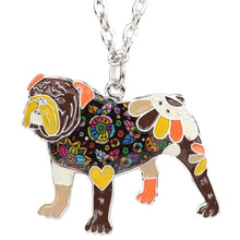 Load image into Gallery viewer, BONSNY Bulldog Pendant Necklace-FurrysWorld