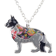 Load image into Gallery viewer, BONSNY German Shepherd Pendant Necklace-FurrysWorld
